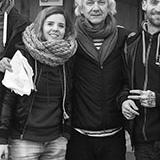 Charles, Lucie, Guy et Branko